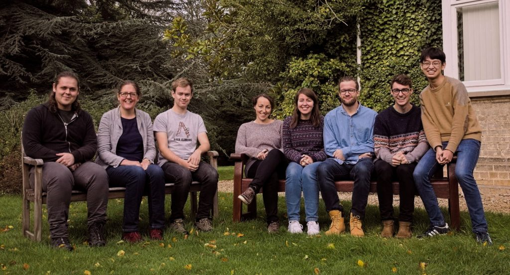 A photo of the Deep Earth Explorers research group